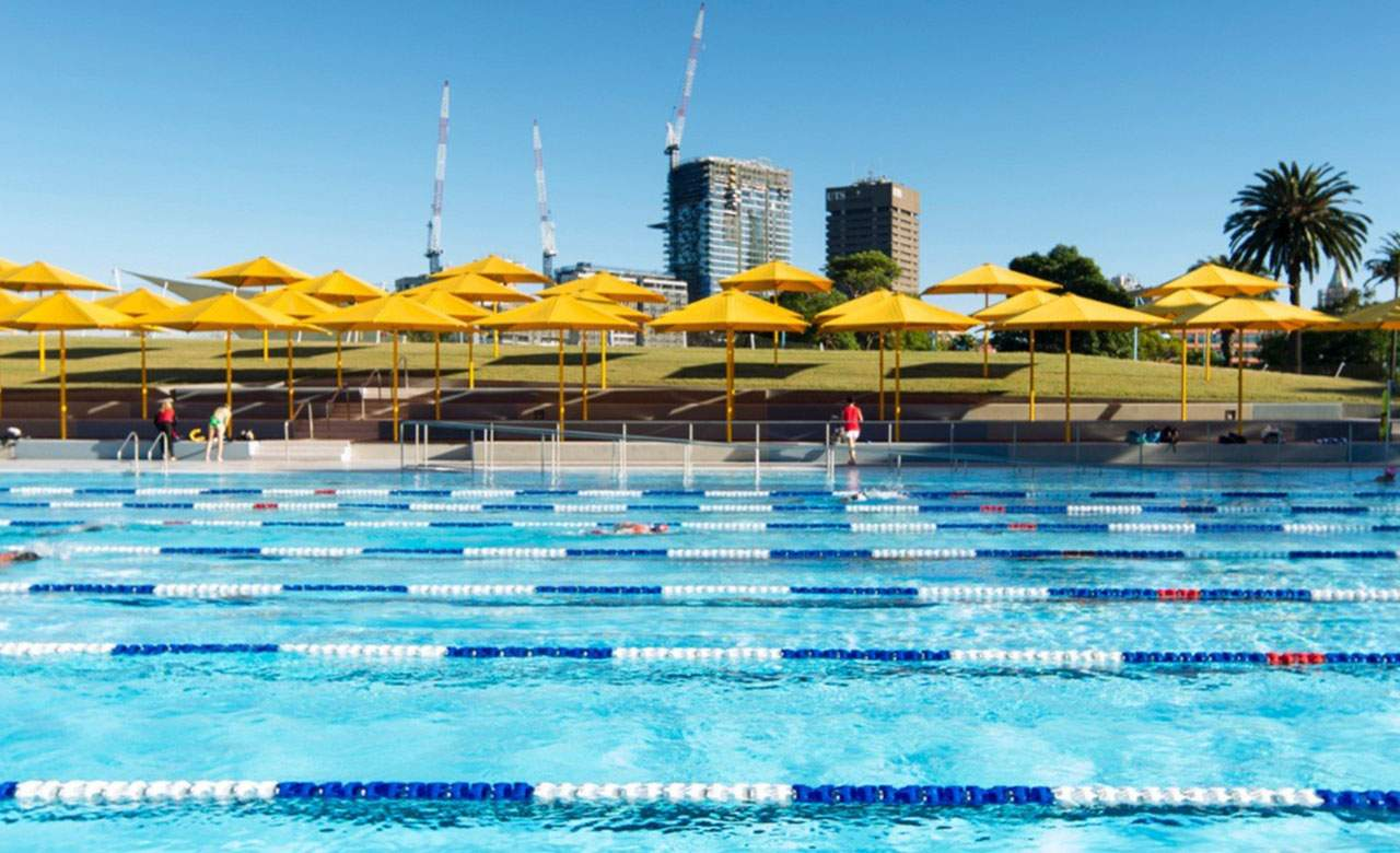 The ten best outdoor swimming pools in sydney concrete for Top 10 swimming pools