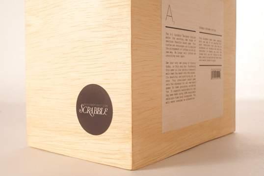 Scrabble Typography by Andrew Capener