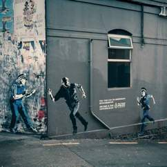 NZ Police Graffiti – If you can't beat em, join em!
