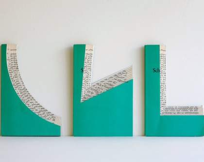 Recycled Library: Altered Books