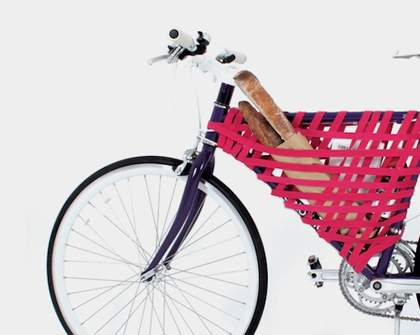 Turn Your Bike Frame into a Basket