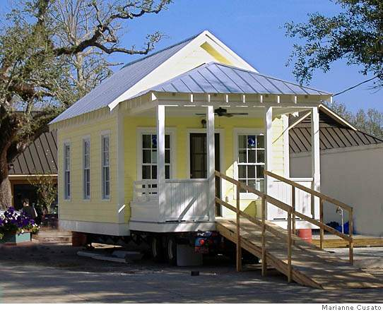 The top ten tiny prefab homes concrete playground brisbane for Katrina cottages pictures