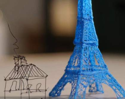 Write on Air with the World's First 3D Pen