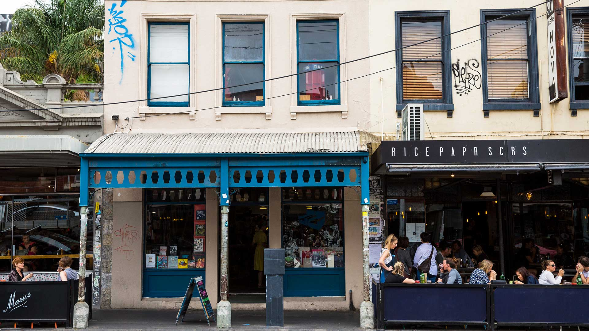 The Brunswick Street Bookstore