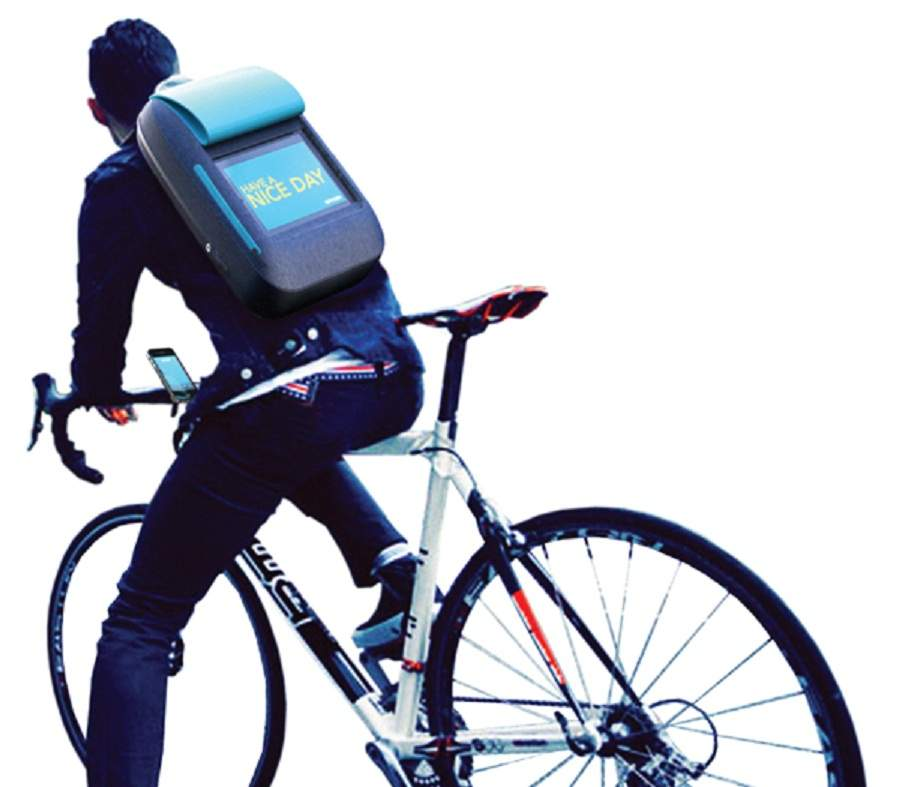 'i Backpack' Gives New Communication Powers to Cyclists