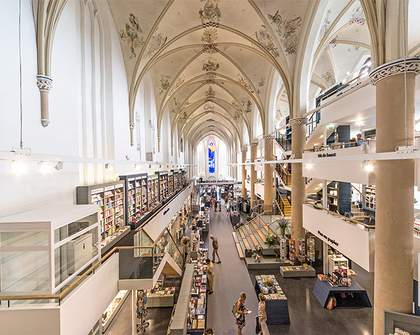 15th-Century Dutch Church Converted to Epic Bookstore