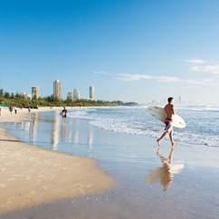 The Ten Best Beaches Near Brisbane