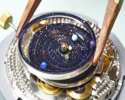 The Whole Solar System in Your Wristwatch