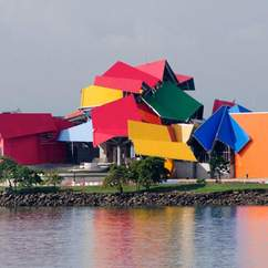 Take a Peek at Frank Gehry's BioMuseo, Opening After Ten Years' Construction