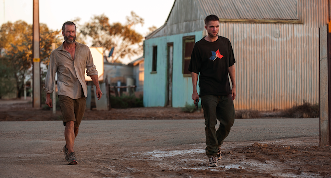 The Rover - Guy Pearce and Robert Pattinson