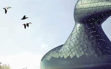 Giant Floating Duck Artwork Could Generate Green Energy for Copenhagen