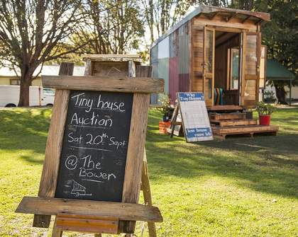 Meet The Bower and The Upcyclist's Tiny, Eco-Friendly House