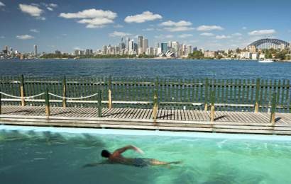 Background image for The Twelve Best Outdoor Swimming Pools in Sydney