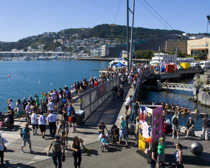 There's a Proposed Smoking Ban on Wellington's Waterfront Under Way