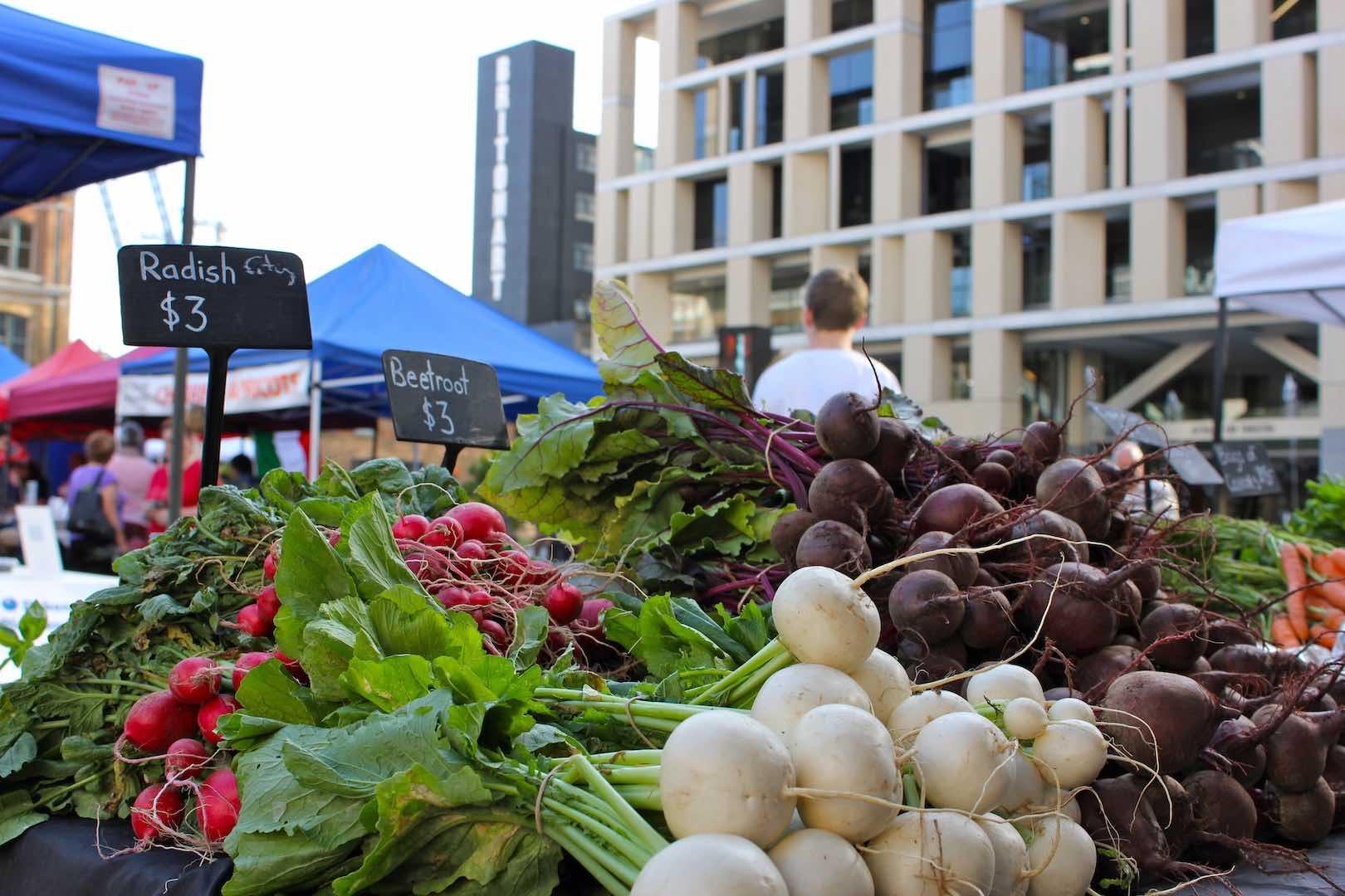 City Farmers' Market at Britomart