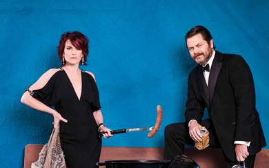 Nick Offerman and Megan Mullally Are Coming to Australia