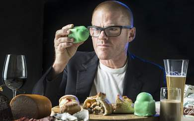Heston Blumenthal Has Called in a Mentalist to Help Craft the New Fat Duck