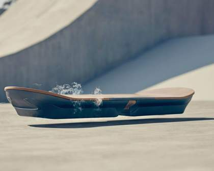 The Lexus Hoverboard Is Real But We Won't Be Marty McFlyin' Anytime Soon