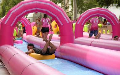The Giant Slip 'N' Slide Is Returning to Melbourne