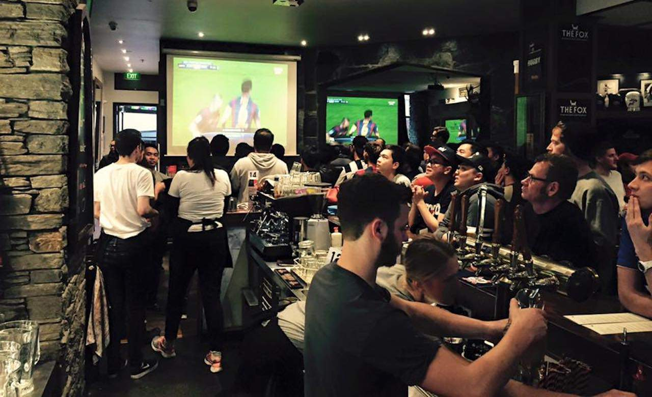 The ten best sports bars in auckland concrete playground for Xi an food bar auckland