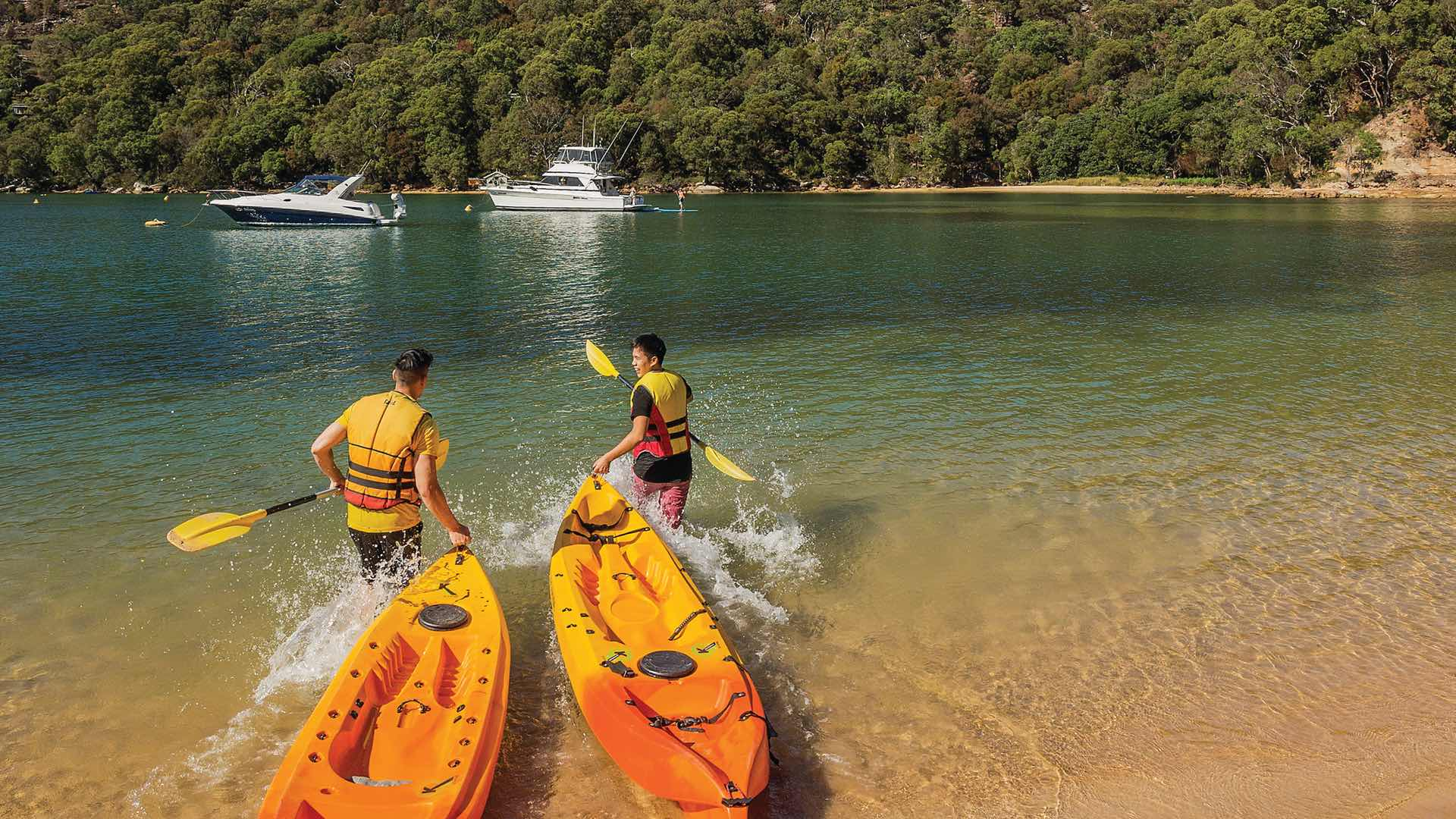 Home Water Filter >> The Ten Best Kayaking Spots in Sydney - Concrete Playground | Concrete Playground Sydney