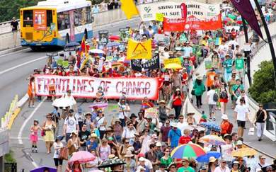 70,000 People in Melbourne and Brisbane Have Rallied for Action on Climate Change