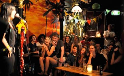 Comedy Lounge Happy Hour Saturdays