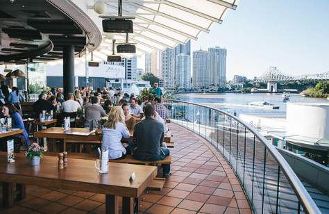THE TEN BEST WATERSIDE BARS IN BRISBANE