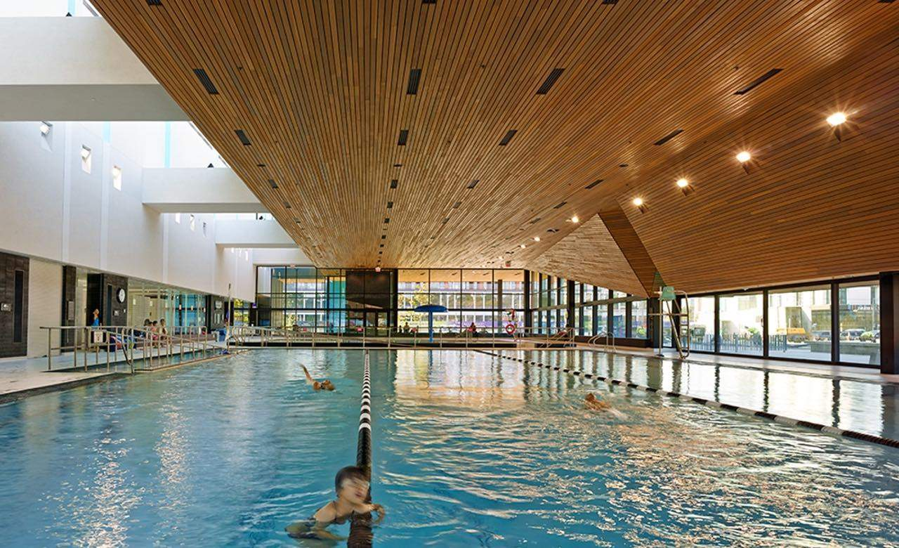 The ten most incredibly designed public swimming pools in the world concrete playground for Fairbank swimming pool toronto