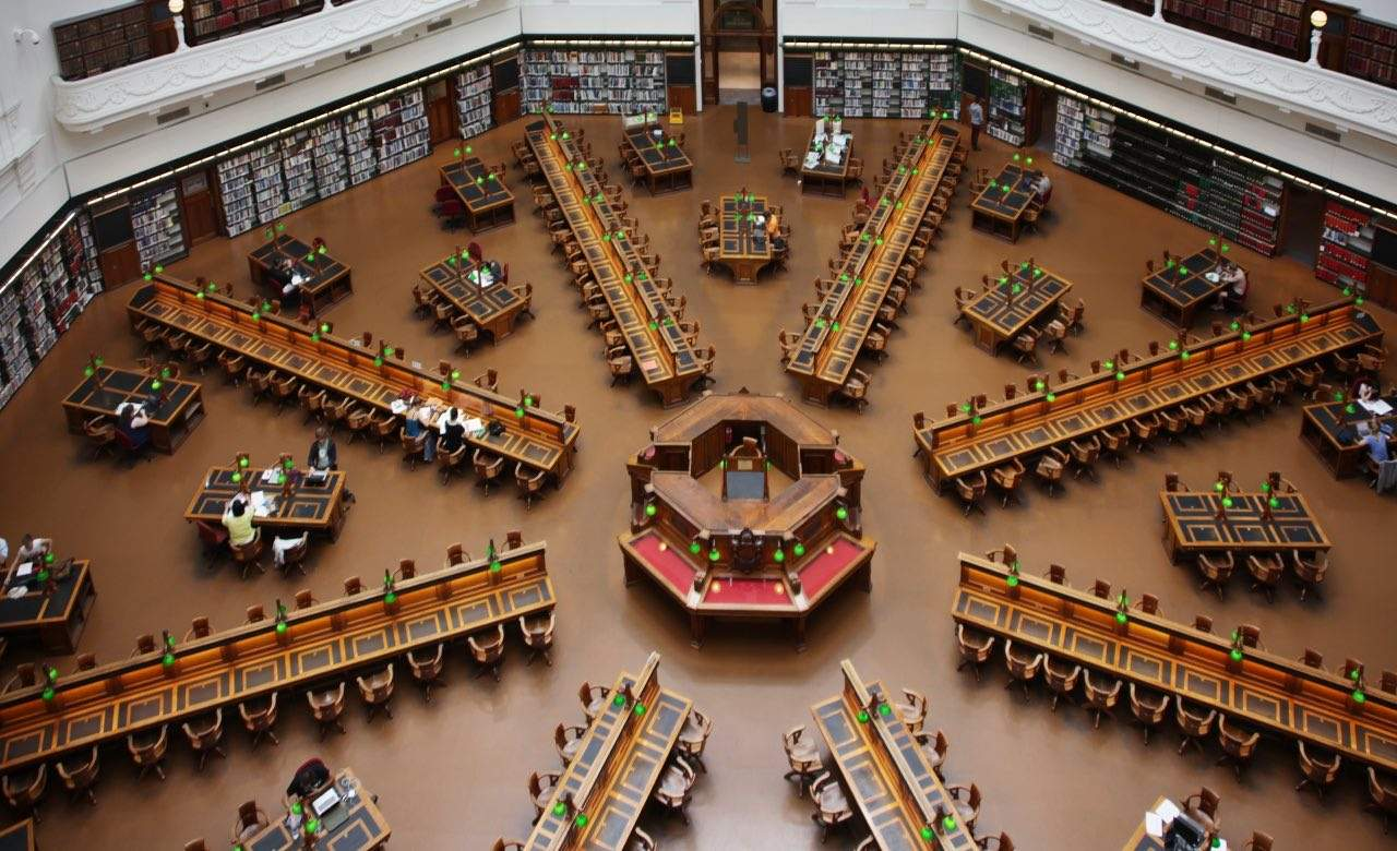 A Wander Through the State Library
