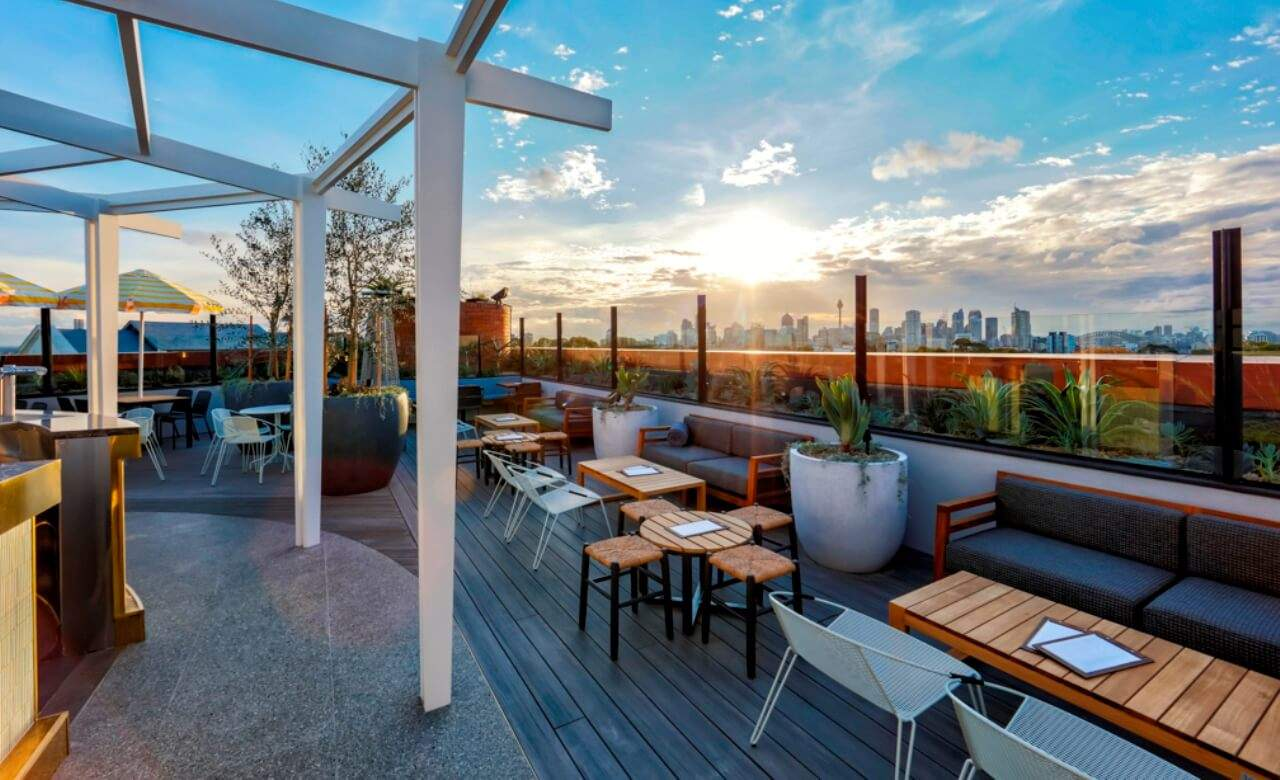Garden Walk Dining: Light Brigade Hotel's New Rooftop Bar Is Now Open