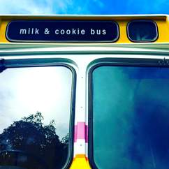 The Moustache Milk & Cookie Bus Is Alive