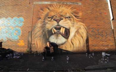 Win Your Own Personalised Mural by Sydney Street Artist Sid Tapia