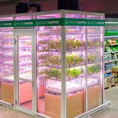 This German Supermarket Has Its Own In-Store Farm