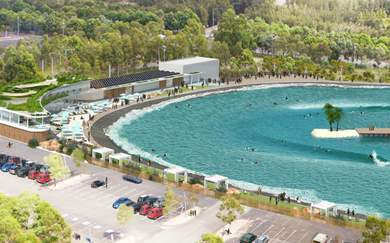 Sydney's Getting Its Own Massive Wave Park