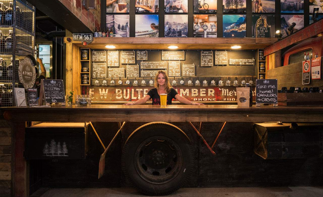 4 Pines Brewery Truck Bar Brookvale