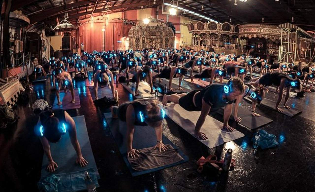 Brisbane's First Silent Yoga Session Is Coming to King George Square