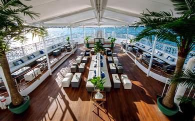 Take a Peek Inside Seadeck, Sydney's Glamorous New Floating Venue