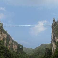 China Is Building Three Insane Swings Off Their New Canyon Bridge
