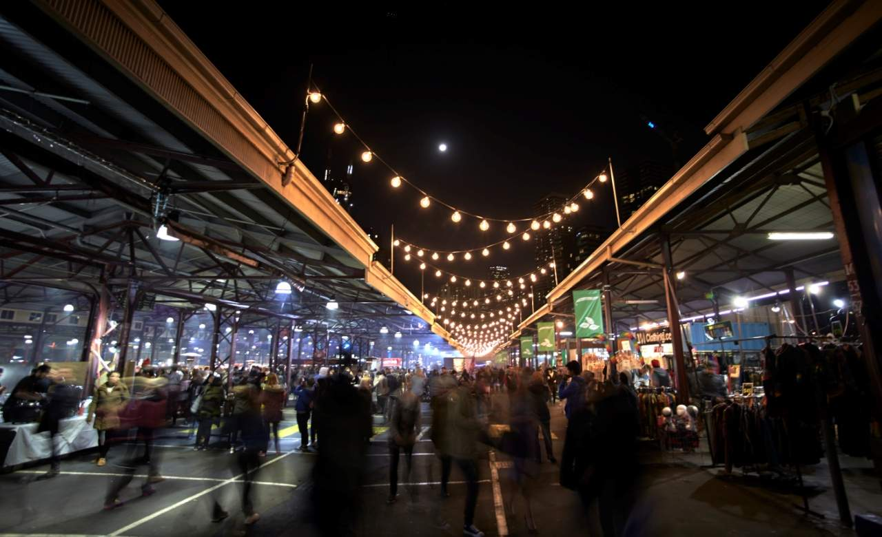 Queen Victoria Winter Night Market 2018
