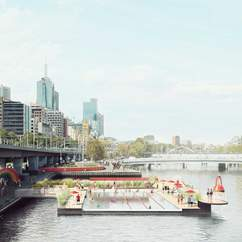 Melbourne's Yarra River Could Be Getting a Swimming Pool