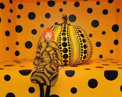 Yayoi Kusama Is Transforming an Airbnb Into a Work of Art