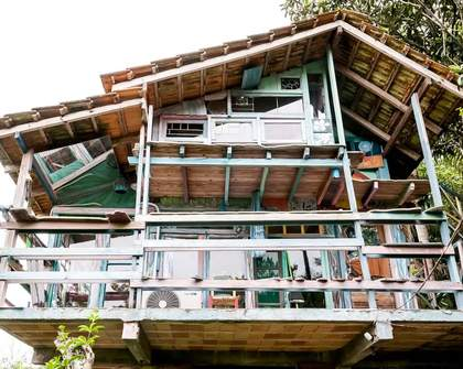 This Amazing Airbnb in Brazil Is Made Entirely out of Demolished Houses