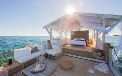 Airbnb Have Just Listed a Floating Home on the Great Barrier Reef