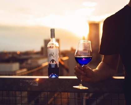 These Spanish Winemakers Have Created a Bright Blue Wine