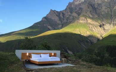 Five Open-Air Hotels Where You Can Sleep Under the Stars