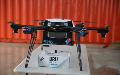 Domino's Is Delivering Pizza by Drone in New Zealand Now