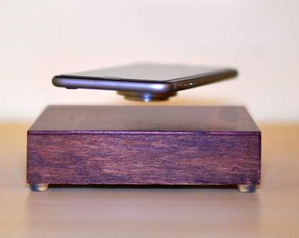 This Wireless Charger Will Magically Make Your Phone Levitate While It Charges It