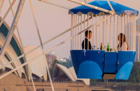 Ferris Wheel Dining Experience