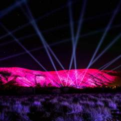 Australia's Biggest Light Installation Has Been Unveiled in Alice Springs